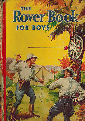 ROVER BOOK FOR BOYS 1942 from Rover Comic - D. C. Thomson