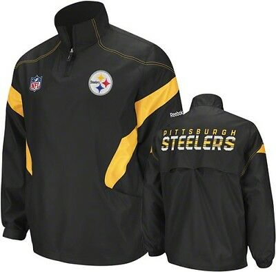 NFL Pittsburgh Steelers Sideline American Football Jacket Coat Top