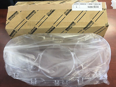 Toyota Supra 1993-1998 Dash Gauge Cluster Clear Lens Plastic Cover DISCONTINUED