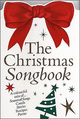 THE CHRISTMAS SONGBOOK Piano Vocal Guitar Sheet Music Book Chords Carols Songs