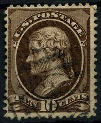 USA 1870-1882, 10c Jefferson Used #D39863