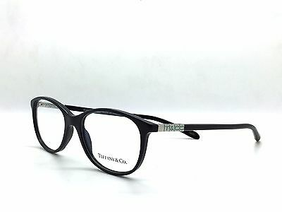 TIFFANY & CO BLACK TF2083 8001 Eyeglasses Rx - Made in Italy -Authentic New 51MM