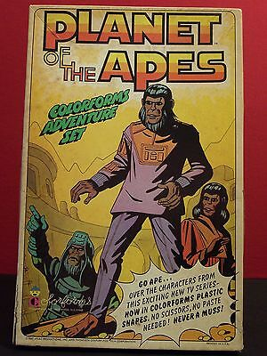Planet of the Apes Vintage 1967 Complete Colorforms Play Set POTA