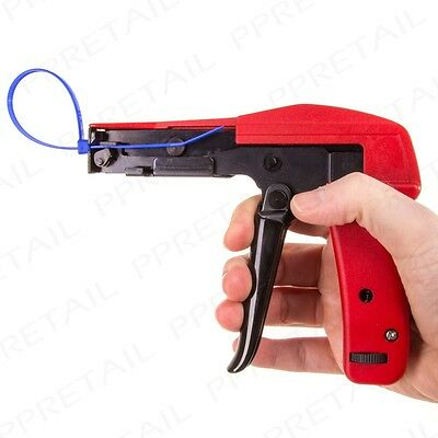 TRADE QUALITY CABLE TIE/WRAP GUN FOR TIES 2.5mm-4.8mm Metal Zip Tensioning Tool