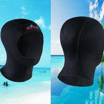 NEW 3MM Neoprene Warm Snorkeling Wetsuit Hood Hat Surf Divers Face Warm Cover