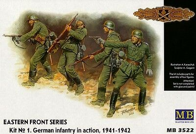 German Infantry in action (1941-42) - Master Box 1/35
