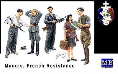 Maquis, French Resistance - Master Box 1/35