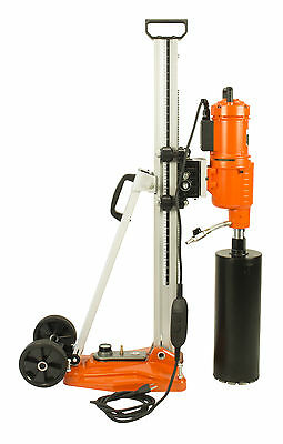 """Cayken 10"""" Diamond Core 5.8 HP Drill Rig With Vacuum Plate Stand"""