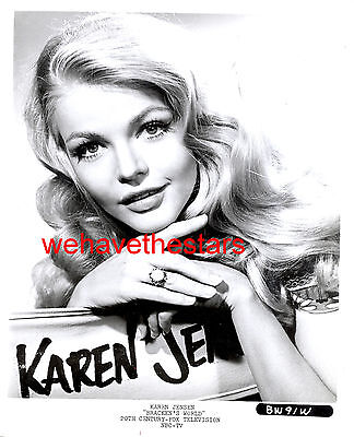 Vintage Karen Jensen GORGEOUS BEAUTY 60s TV Publicity Portrait