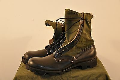 Belleville 13.5 Xw  - 1988 Dated Usgi Jungle Boots- Panama Sole - Unissued