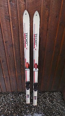 """VINTAGE 54"""" Skis with Metal Bindings GREAT FOR DECORATION"""