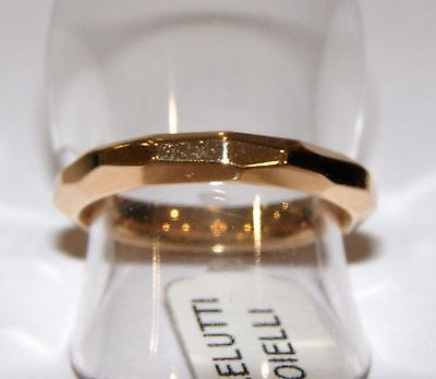 Anello oro rosso 18KT POMELLATO red gold ring rot Goldring Bague en or rouge