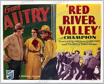 16x20 Poster Gene Autry Red River Valley Republic Pictures 1936 #1a010