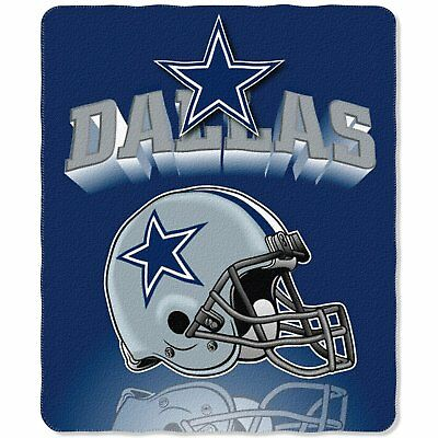 NFL Dallas Cowboys Officially Licensed 50 X 60 Mirror Fleece Throw Blanket