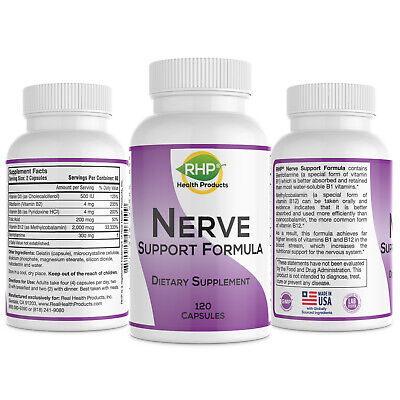 Nerve Support Formula - Nutritional Support for Neuropathy & Nerve Pain Relief