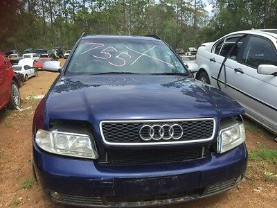 2000 Audi A4 Instrument Cluster ODO 192000kms (approx) #B755