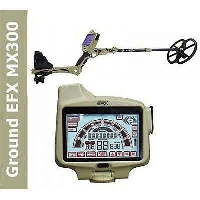 """Metal Detector Ground EFX MX 300 GPS 13"""" DD search Metal Coins Iron"""