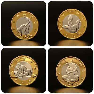 Iron Collection Commemorative Coins EROTIC Sex Coins Germany Medals/Gold Coins
