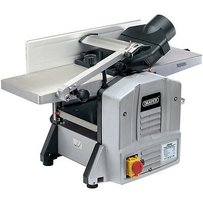 Planer wired and thickness bench inclination 0-45 1500W 230V