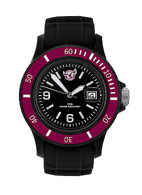 NRL Manly Sea Eagles Cool Series Watch 100m WR FREE SHIPPING