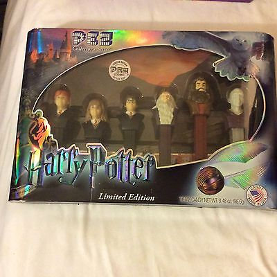 Harry Potter Limited Edition Pez Candy Dispensers: 6-Piece Collectors Box Set