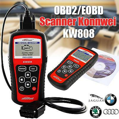 OBD2 Code Reader Car Diagnostic Scanner KW808 CAN Engine Reset Tool KONNWEI -NEW