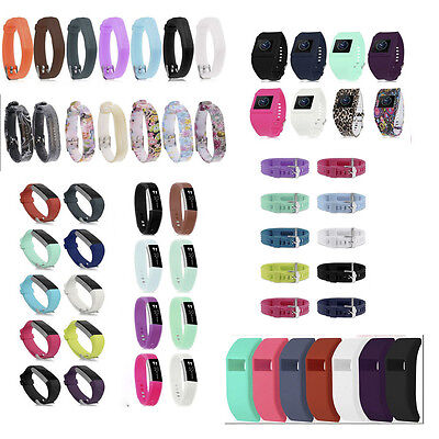 Fashion Sport Silicone Replacement Wristband Bracelet Band for Fitbit Styles