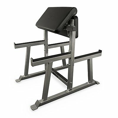 Valor Fitness Cb-5 Arm Curl Station Silver New
