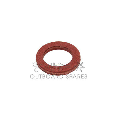 A New Yamaha Lower Unit Drain Screw Washer for Outboards 10pk (Part#90430-08020)