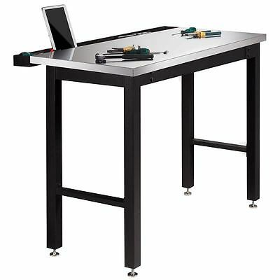 NewAge 4ft (1.2m) Work Bench with Stainless Steel Top - Free Delivery
