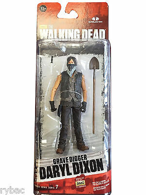 THE WALKING DEAD TV SERIES 7 GRAVE DIGGER DARYL ACTION FIGURE McFARLANE TOYS