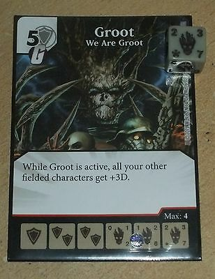Groot - We Are Groot - Super Rare Marvel Dice Masters: Avengers Age of Ultron