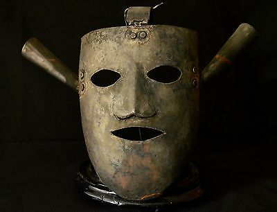 mascara de tortura - torture mask - artisan reproduction