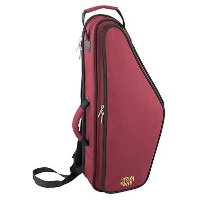 Tom and Will 36AS Padded Alto Saxophone Bag - Burgundy