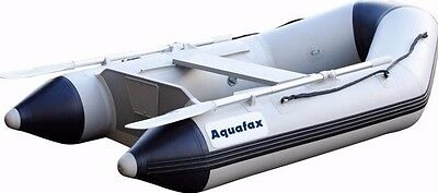 Aquafax 2.5M Inflatable Dinghy Tender - Slatted Floor - With All Accessories