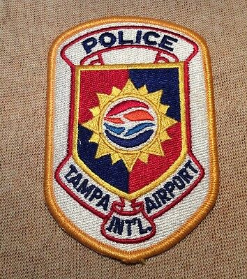 FL Tampa International Airport Florida Police Patch (Old Style)