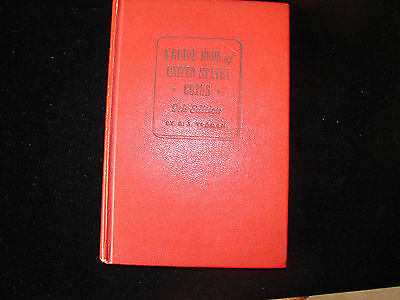 Red Book of U.S. Coins 1956 the Ninth Edition of the book.