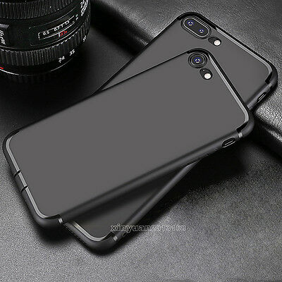 Shockproof Ultra Thin Slim Matte Hard Back Case Cover For iPhone 7 6 6s 7 Plus