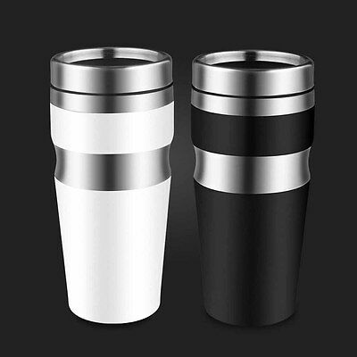 450 ml Double Wall Stainless Steel Coffee Thermos Cups Thermal Bottle Tumblr