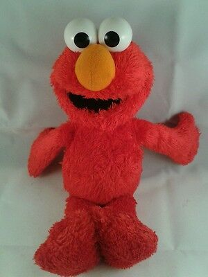 Sesame Street TALKING Elmo or Phoebe Soft Plush Toy Furchester Hotel