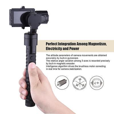 3-Axis Handheld Gimbal Camera Stabilizer Grip with 4*Battery for GoPro Hero E6V5