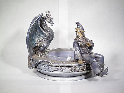 Wizard and Dragon Ash Tray Stature Pt# W1 (# 2621)