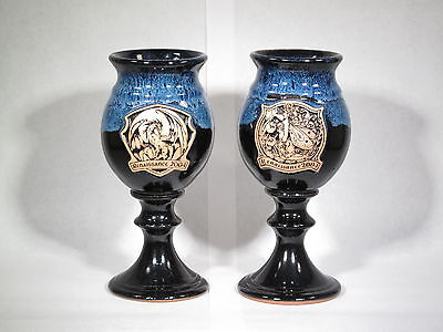 Two Minnesota Renaissance Goblets from 2004 Pt# W1 (# 2611)