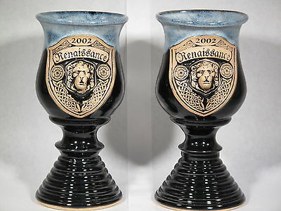 Two Minnesota Renaissance Goblets from 2002 Pt# W1 (# 2616)
