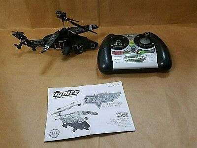 IGNITE Radio Control Falcon Flyer 3.5 Channel Helicopter As Is B1113