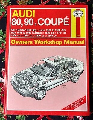 AUDI 80, 90, Coupe 1986-90 Haynes Workshop Manual, From 1991
