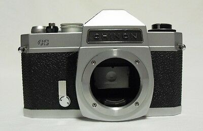 CHINON CS 35mm SLR Film Camera Body Only Tested Meter Working M42 Screw Lens