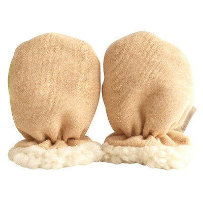 Without Finger Gloves Cashmere Winter New Born Baby Mitten Thicken Warm Infant