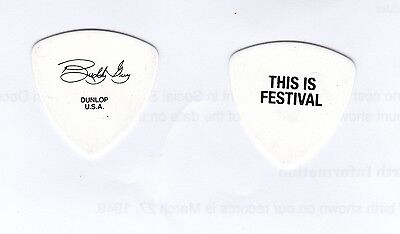 BUDDY GUY  Tour Guitar Pick!!! custom concert stage This Is Festival