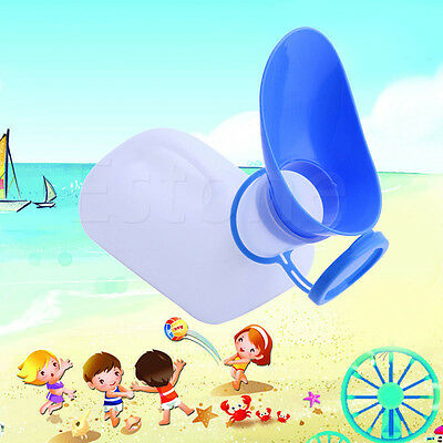 Portable Unisex Mobile Toilet Car Travel Journeys Camping Hiking Boats Urinal